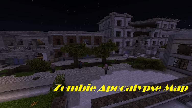 Zombie Apocalypse Map for Minecraft - File-Minecraft.com