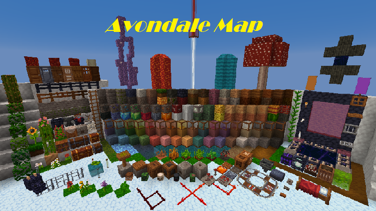 Avondale Map for Minecraft - File-Minecraft.com