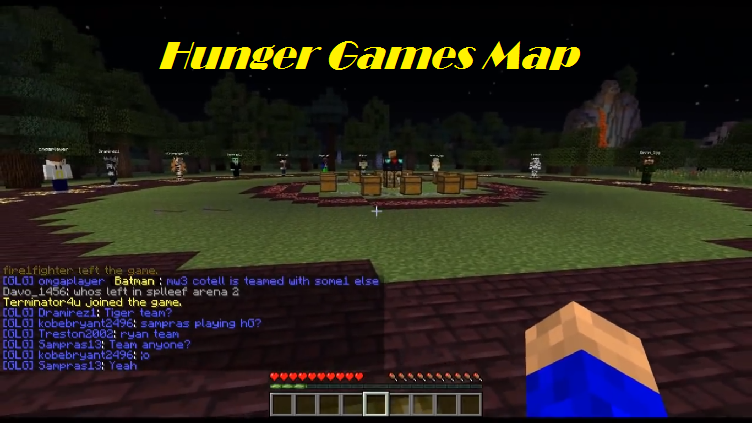 how to play hunger games on minecraft pe new update