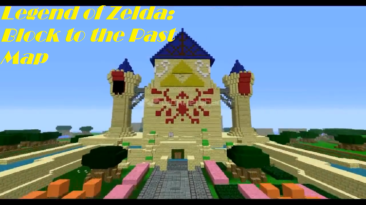 Legend of Zelda: Block to the Past Map for Minecraft - File ...