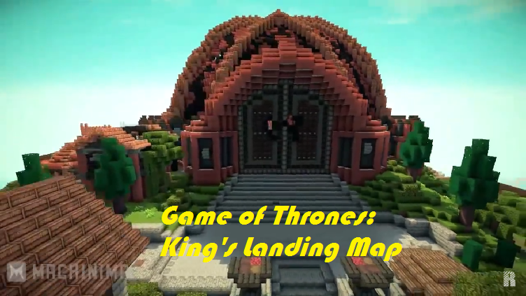 Minecraft Com The Game : Game of thrones kings landing map