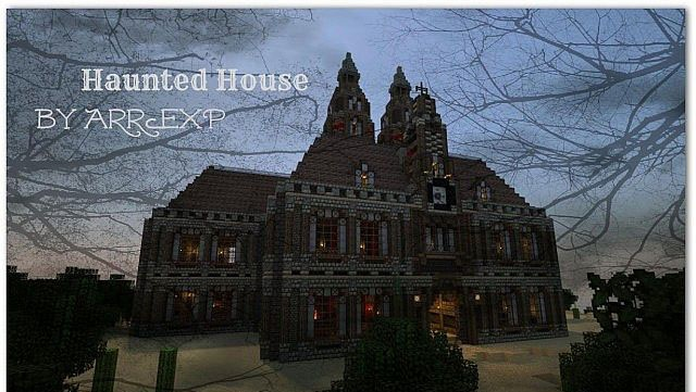 Haunted House Map File Minecraft Com