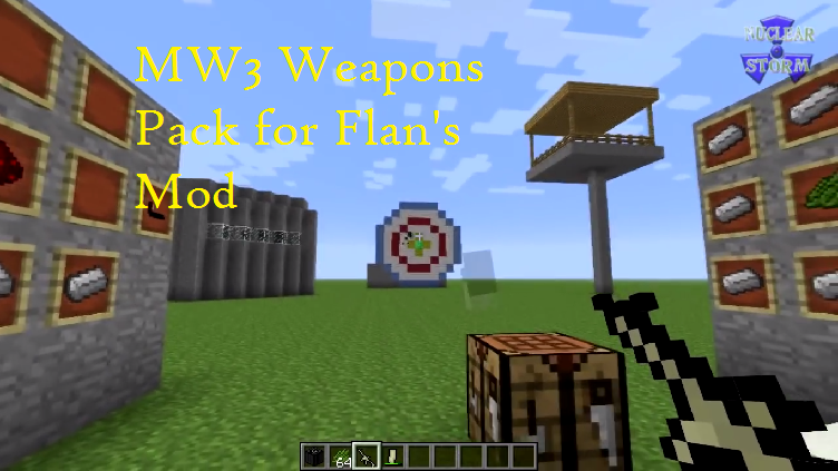 MW3 Weapons Pack for Flan's Mod for Minecraft - File-Minecraft com