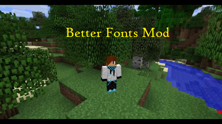 Better Fonts Mod for Minecraft - File-Minecraft com