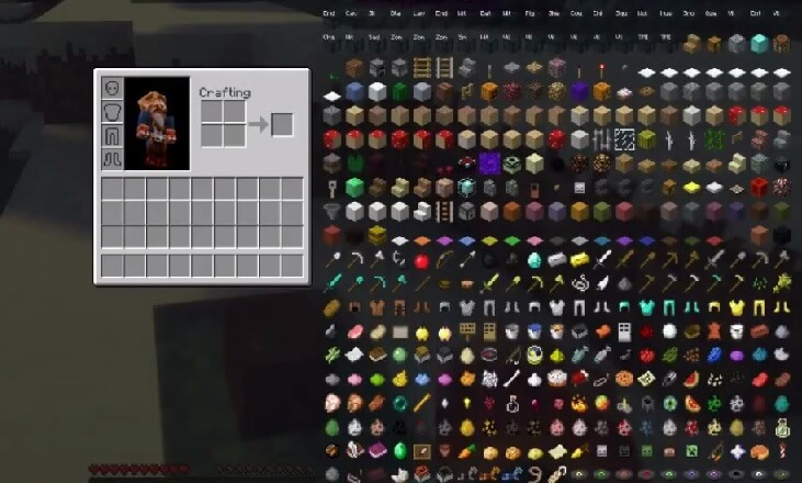 Too Many Items Mod screenshot