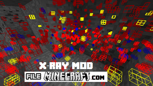 Xray mod with fly screenshot