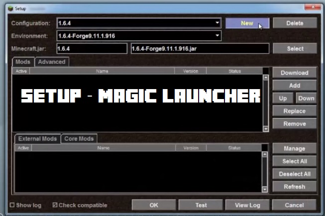 Setup Magic Launcher