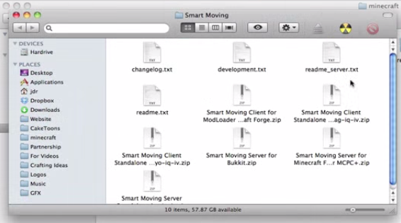 Smart Moving Mac installation