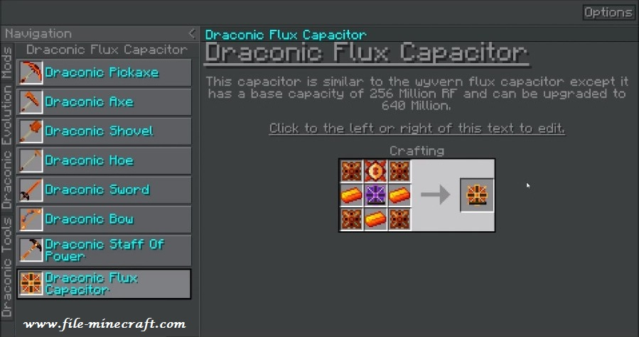 rf tools how to make a draconic dimension