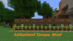 Attained Drops Mod for Minecraft 1.12.2/1.11.2