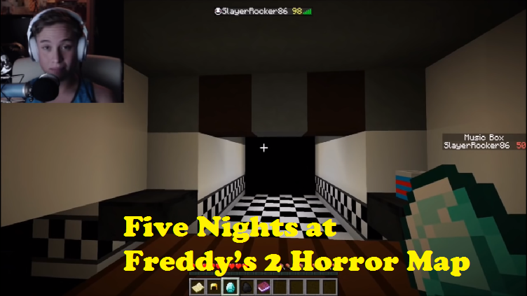 Five Nights at Freddy's 2 Horror Map for Minecraft - File-Minecraft com