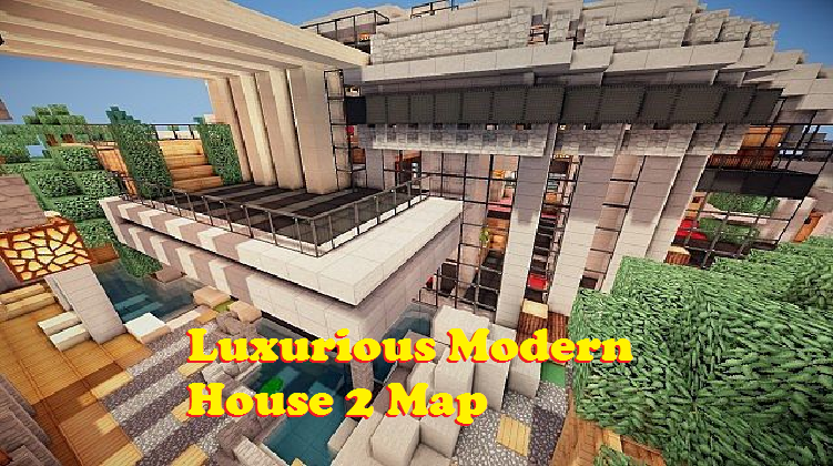 Luxurious modern house 2 map for minecraft file minecraft luxurious modern house 2 map publicscrutiny Gallery