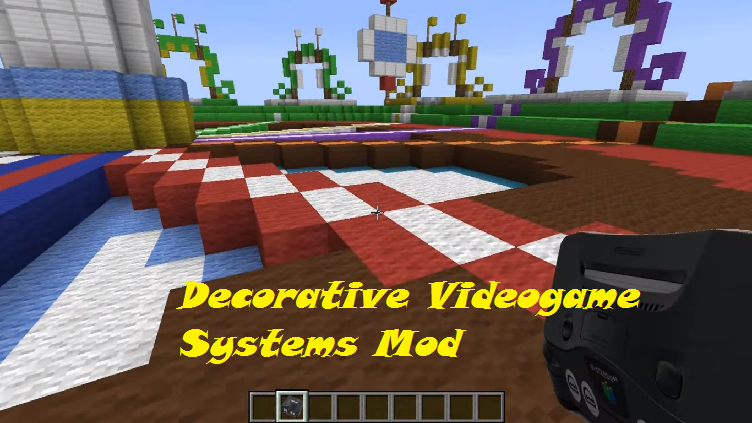 Minecraft Com The Game : Decorative videogame systems mod