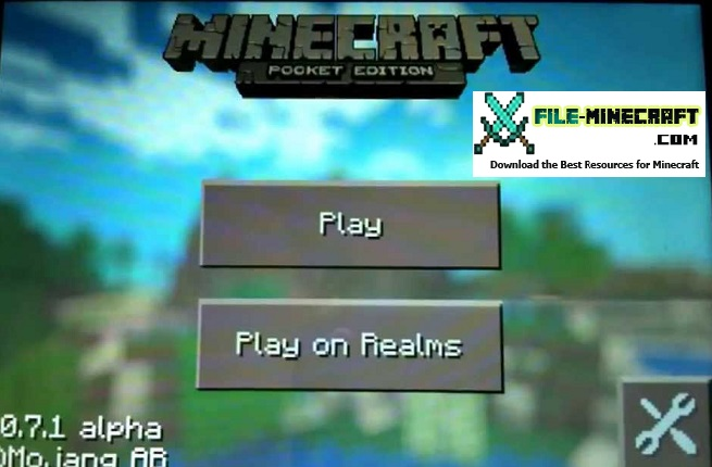 Playing-Minecraft-Pocket-Edition