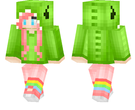 Minecraft Dino Girl MCPE - File-Minecraft com