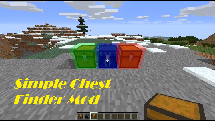 Simple Chest Finder Mod for Minecraft - File-Minecraft com
