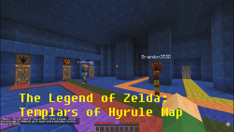 The Legend of Zelda: Templars of Hyrule Map for Minecraft ...
