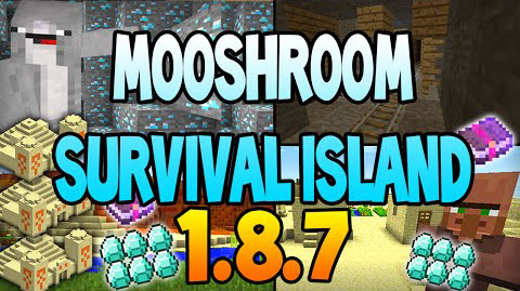Mooshroom-survival-island-and-dungeons-seed