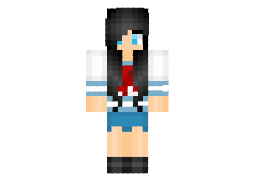 Yandere School Girl Skin FileMinecraftcom - Skins para minecraft de yandere