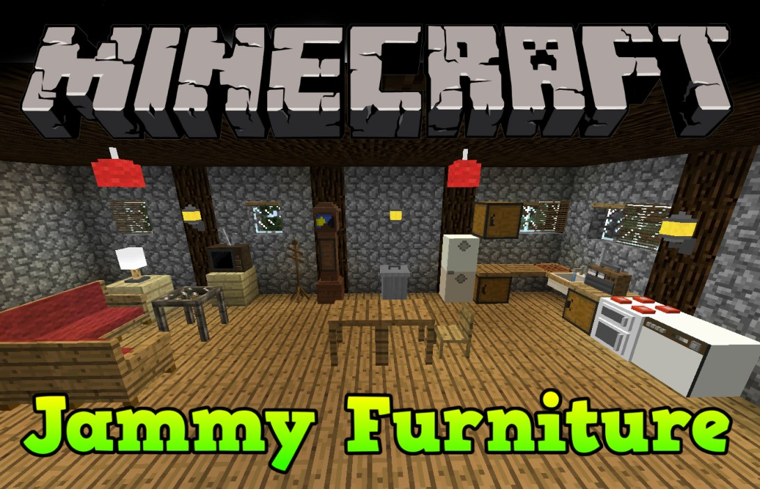 Jammy Furniture Reborn Mod For Minecraft File