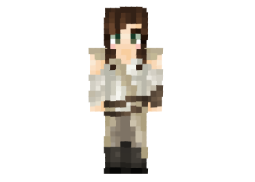 Star Wars Rey Skin FileMinecraftcom - Skin para minecraft pe rey