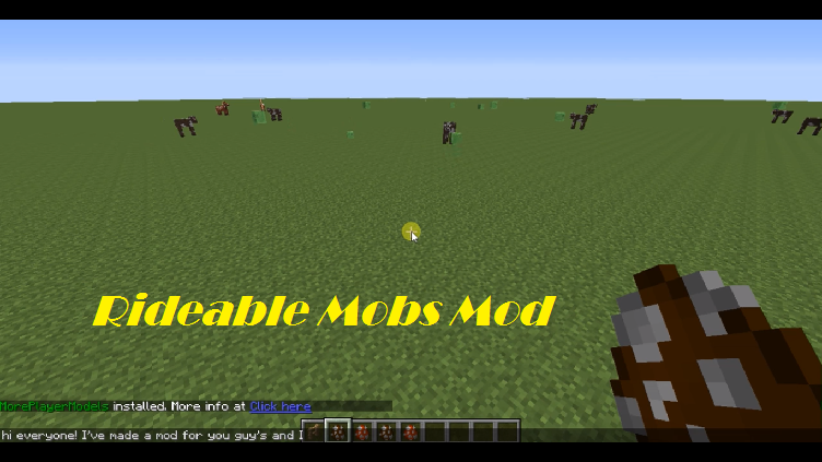 rideable-mobs-mod-minecraft
