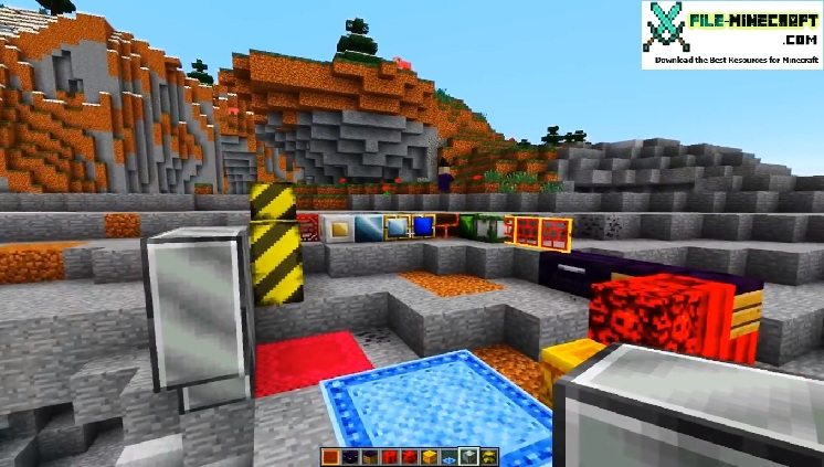 how to make a chisel in minecraft