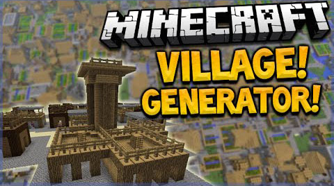 Village-Generator-Command-Block