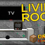 Living Room Furnitures Command Block