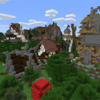 rexzys-village-creation-map-for-mcpe