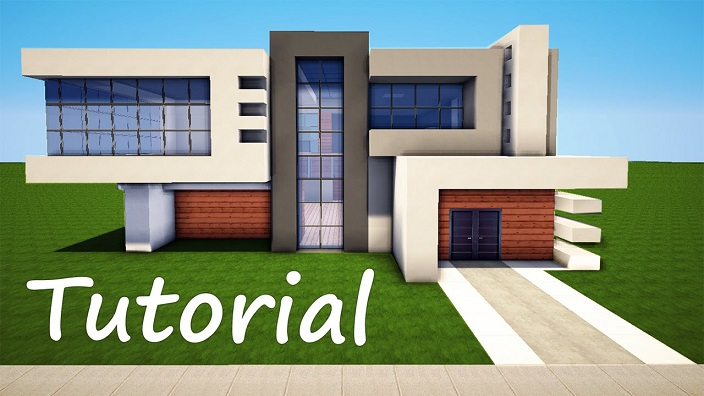 How To Build A Modern House Minecraft House Design File