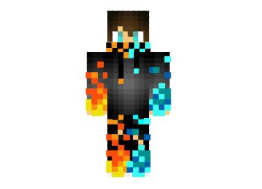 fire ice boy skin how to make