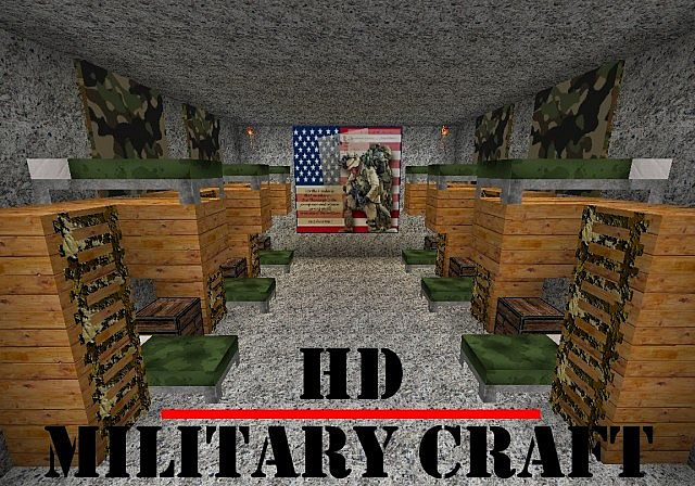 Military Craft Texture Pack - File-Minecraft.com