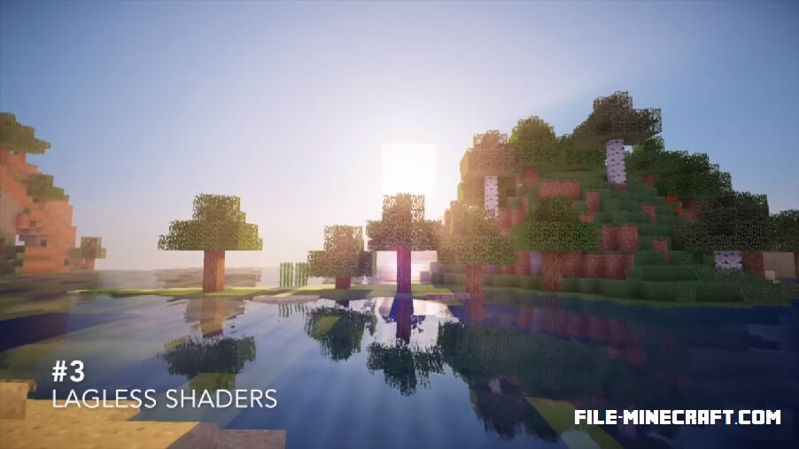 Lagless Shaders Mod