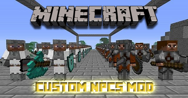 Custom NPCs Mod FileMinecraftcom - Minecraft flans mod server 1 8 erstellen