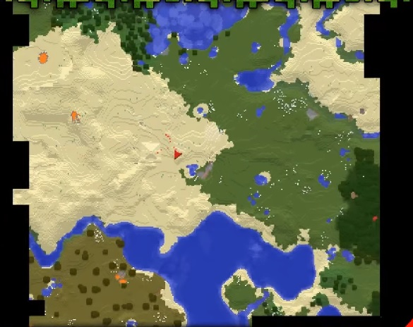 Xaero's World Map Mod 1.12.2/1.11.2   File Minecraft.com