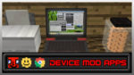 Device Mod Apps Mod for Minecraft 1.12.2